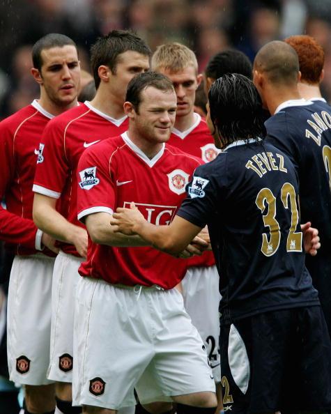 Carlos Tevez Wayne Rooney