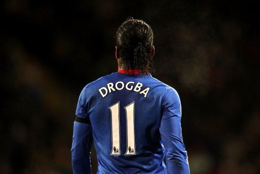 pretty nice f807c 39e37 Video) Chelsea Legend Didier Drogba Picks His Top Five Goals ...