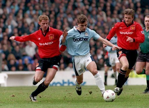 Soccer - Premier League-Manchester City v Manchester United