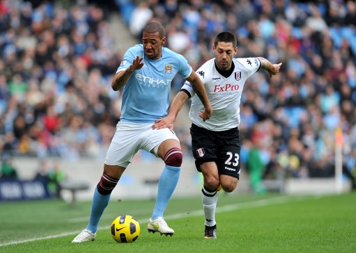 Soccer - Barclays Premier League - Manchester City v Fulham - City of Manchester Stadium