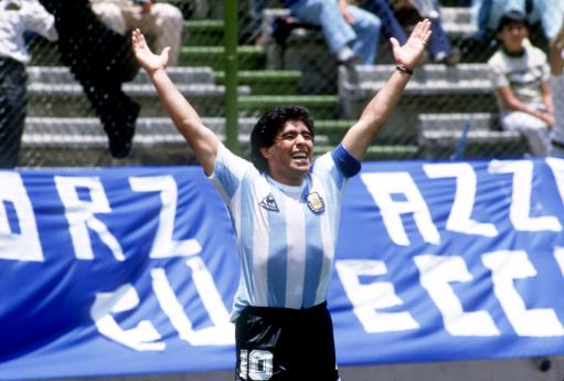 Soccer - World Cup Mexico 86 - Group A - Argentina v Italy