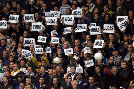 Tottenham fans Sol Campbell