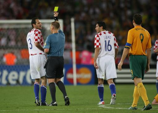 Soccer - 2006 FIFA World Cup Germany - Group F - Croatia v Australia - Gottlieb-Daimler-Stadion
