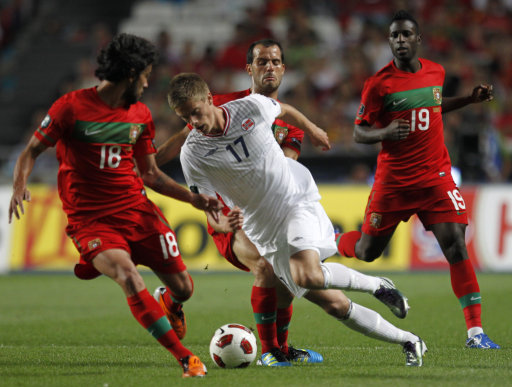 Portugal Norway Euro 2012 Soccer