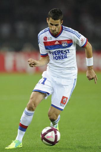 French First League soccer match, Paris Saint-Germain Vs Olympique Lyonnais