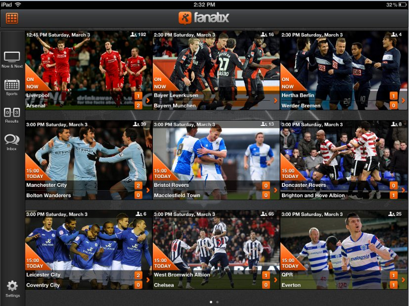 Fanatix for iPad: The Free App All Football Fans Must Have