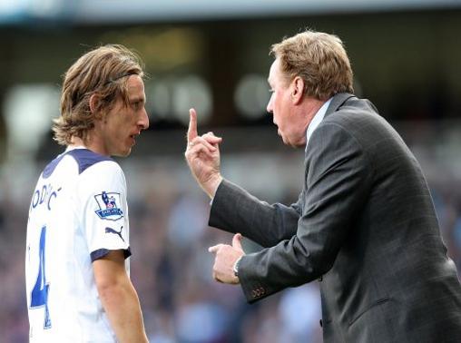Modric & Redknapp