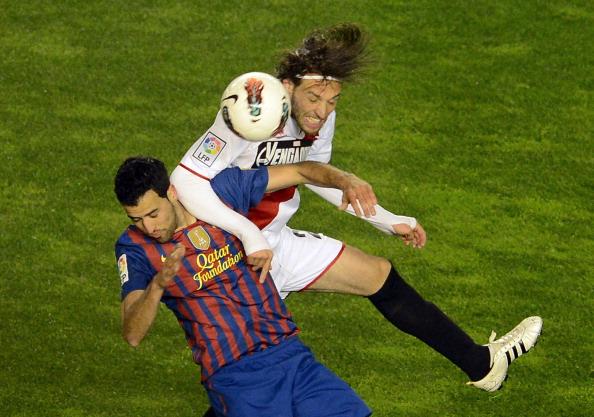 Barcelona's midfielder Sergio Busquets (