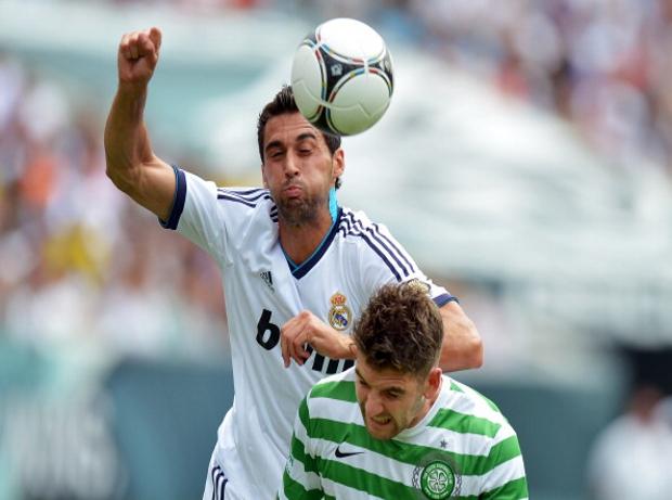 Arbeloa Real Madrid Celtic
