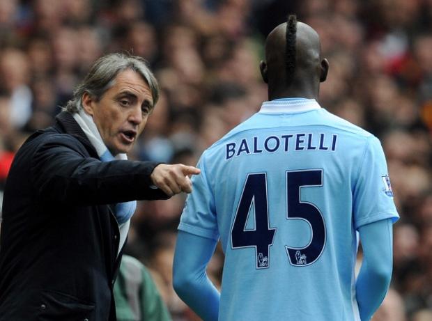 Balotelli Mancini