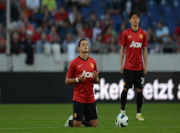 Javier Hernandez Arsenal