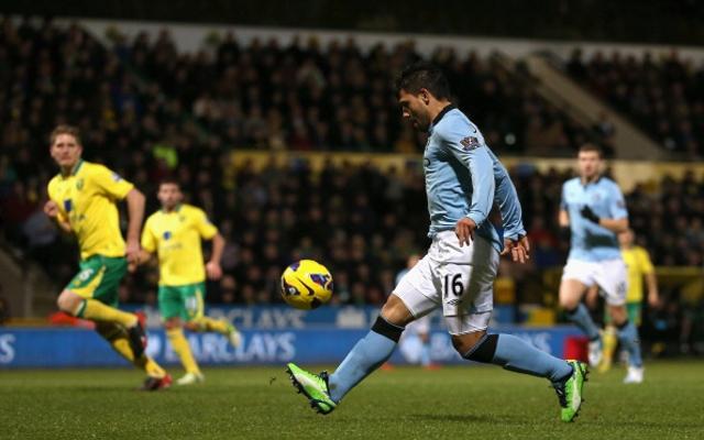 Aguero Norwich City