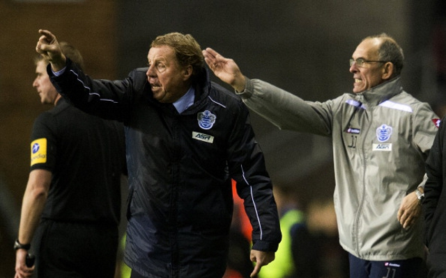 Redknapp Angry