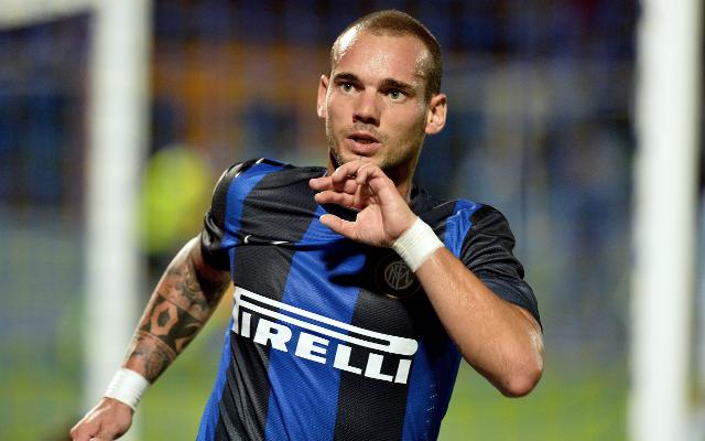 Wesley Sneijder Inter Milan