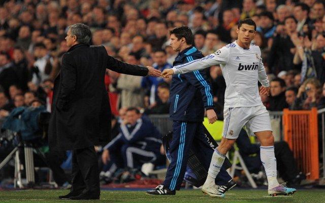 Mourinho Ronaldo Man United