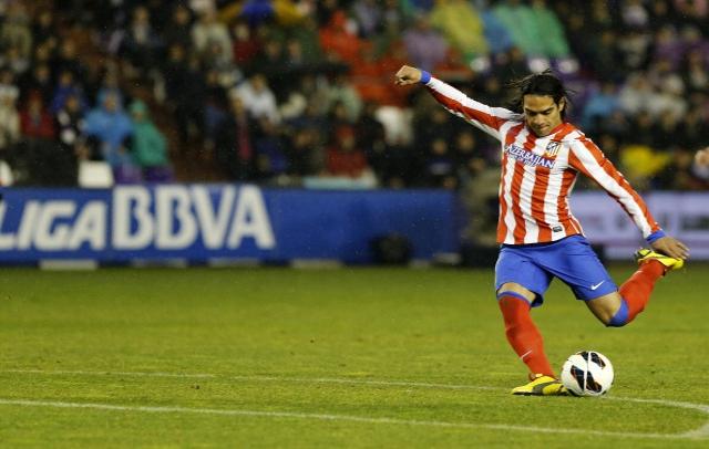 Falcao Vallodolid Goal