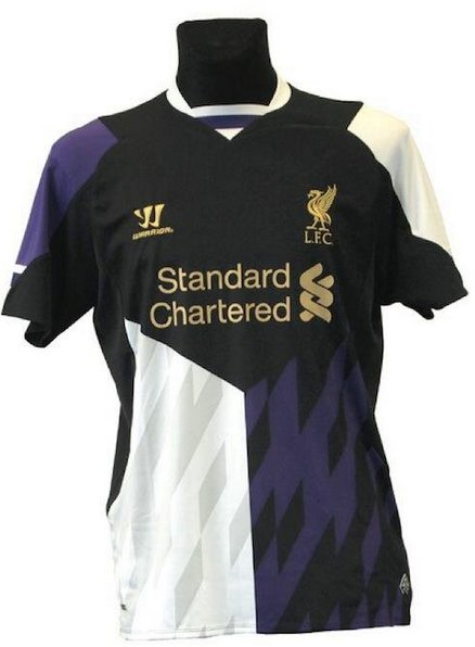 detailed look 279bd d5af7 Images: New Liverpool Home, Away & Third Kits for 2013/14 ...