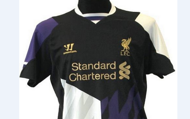 detailed look ef52e 20521 Images: New Liverpool Home, Away & Third Kits for 2013/14 ...