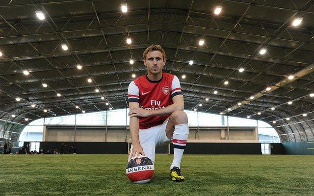 Monreal Arsenal Shirt