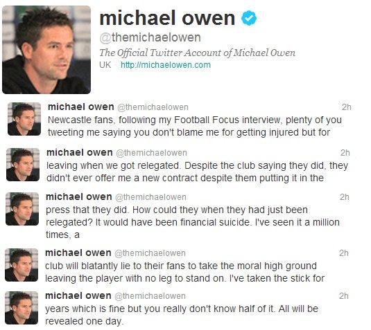 Owen Twitter Rant
