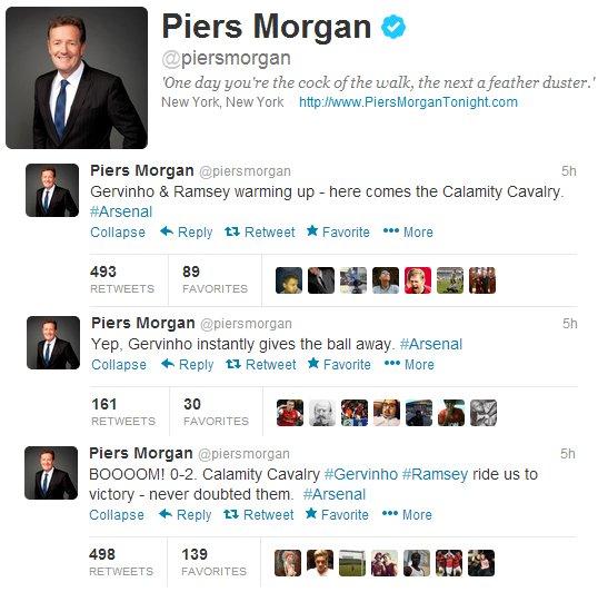 Piers Calamity Tweet
