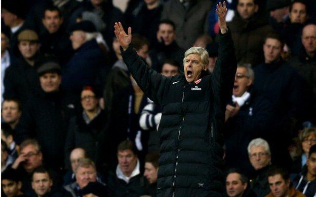 Wenger Angry Tottenham