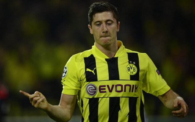 Lewandowski Man United 30m