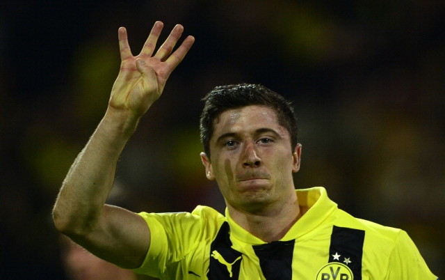 Lewandowski Man United Confident