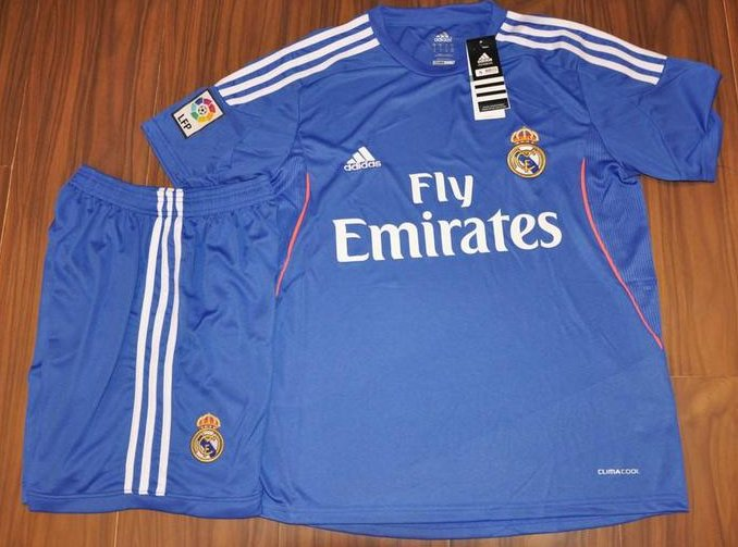 Real Madrid Away Blue