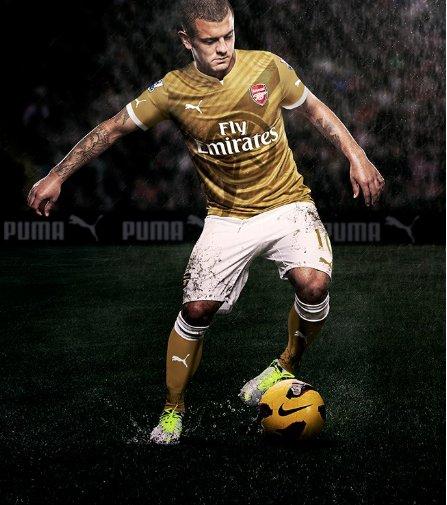 Arsenal Puma Gold