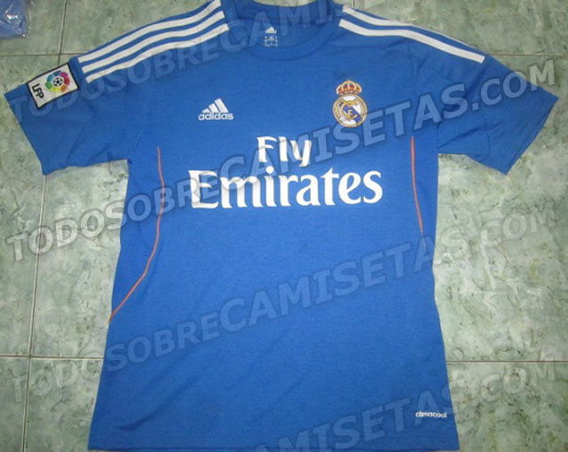 Real Madrid Away 201314