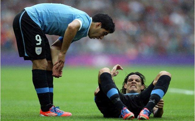 Suarez Cavani Uruguay