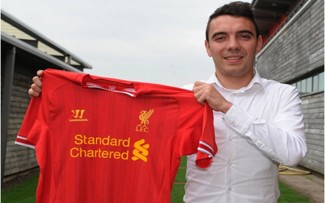Aspas Liverpool Shirt