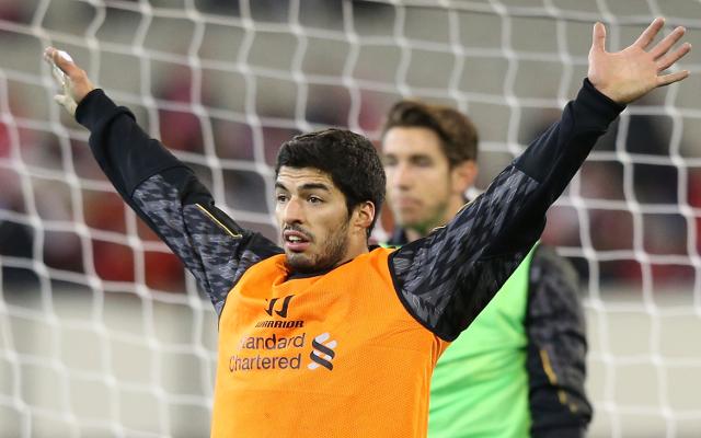 Suarez Arsenal Close