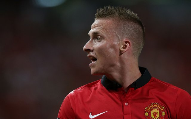 Alexander Buttner Man United