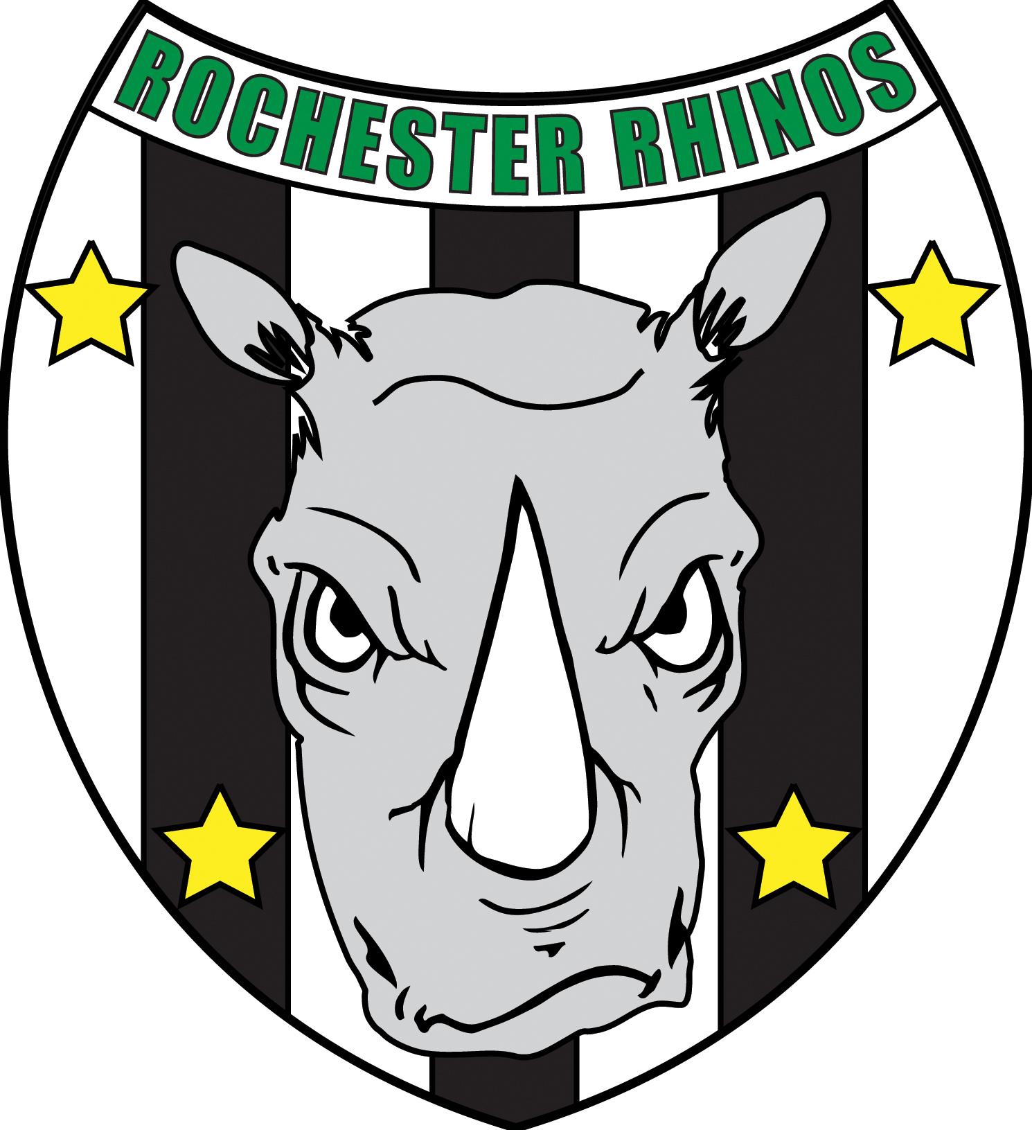 Rochester Rhinos Badge 2