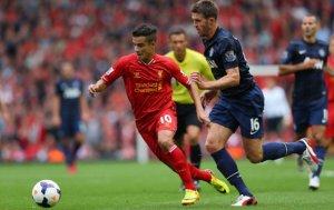 Coutinho Liverpool Man Utd
