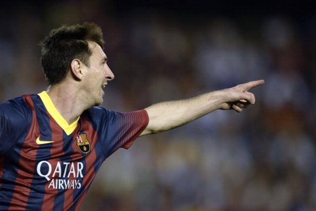 Messi Valencia