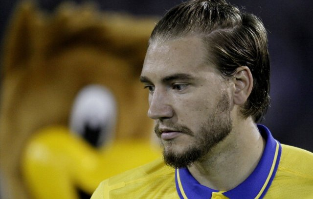 Nicklas Bendtner Arsenal WBA
