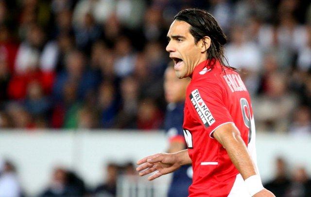 Radamel Falcao Monaco PSG