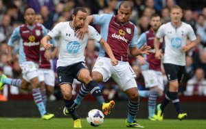 Andros Townsend Spurs Aston Villa