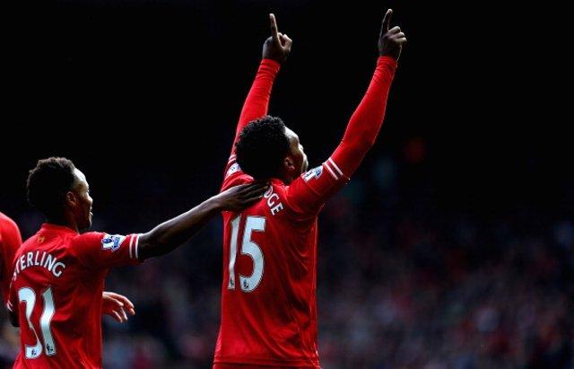 Daniel Sturridge Liverpool Crystal Palace