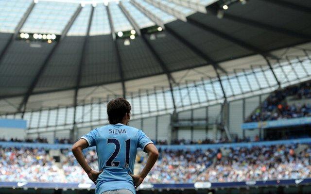 David Silva Manchester City Hull