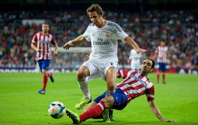Fabio Coentrao Real Madrid Atletico