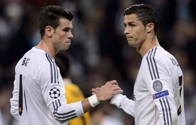 Gareth Bale Cristiano Ronaldo