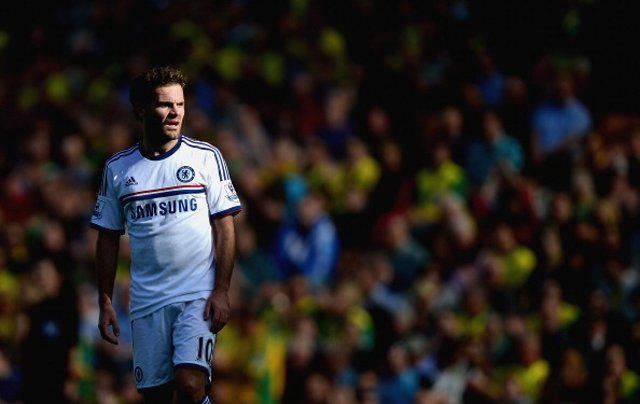 Juan Mata Chelsea Norwich
