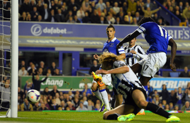 Lukaku Goal Everton
