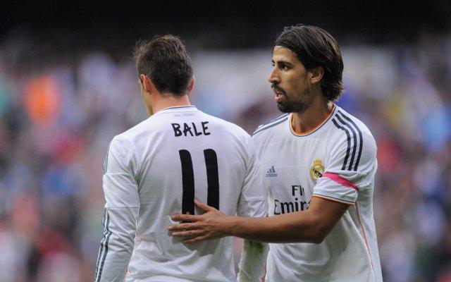Sami Khedira Gareth Bale