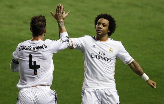 Sergio Ramos Marcelo Real Madrid