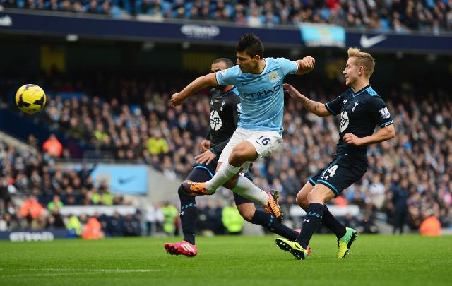 Aguero Tottenham